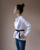 Picture of  WHITE COTTON TUNIC TINA